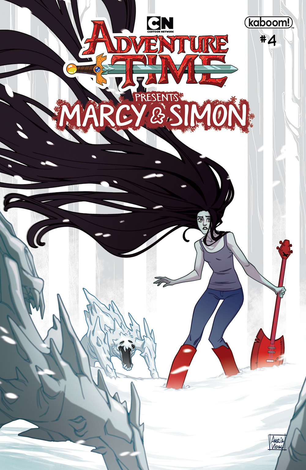 ADVENTURE TIME MARCY & SIMON #4 (OF 6) PREORDER MARCY