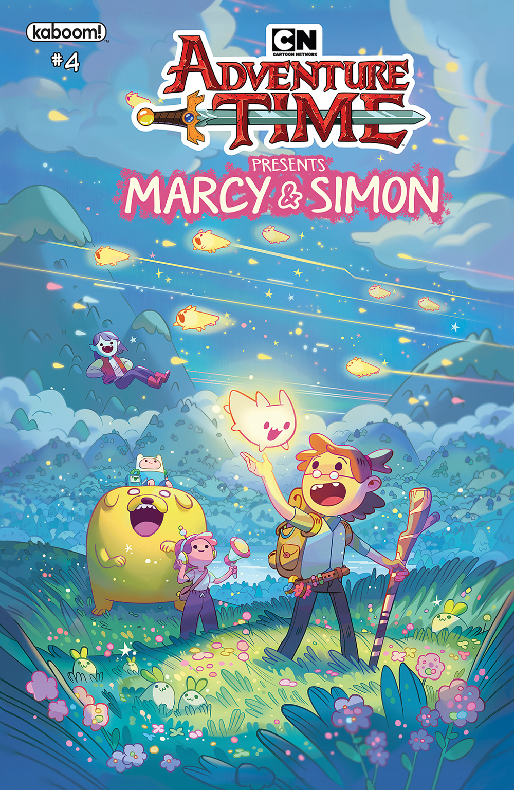 ADVENTURE TIME MARCY & SIMON #4 (OF 6) PREORDER SIMON