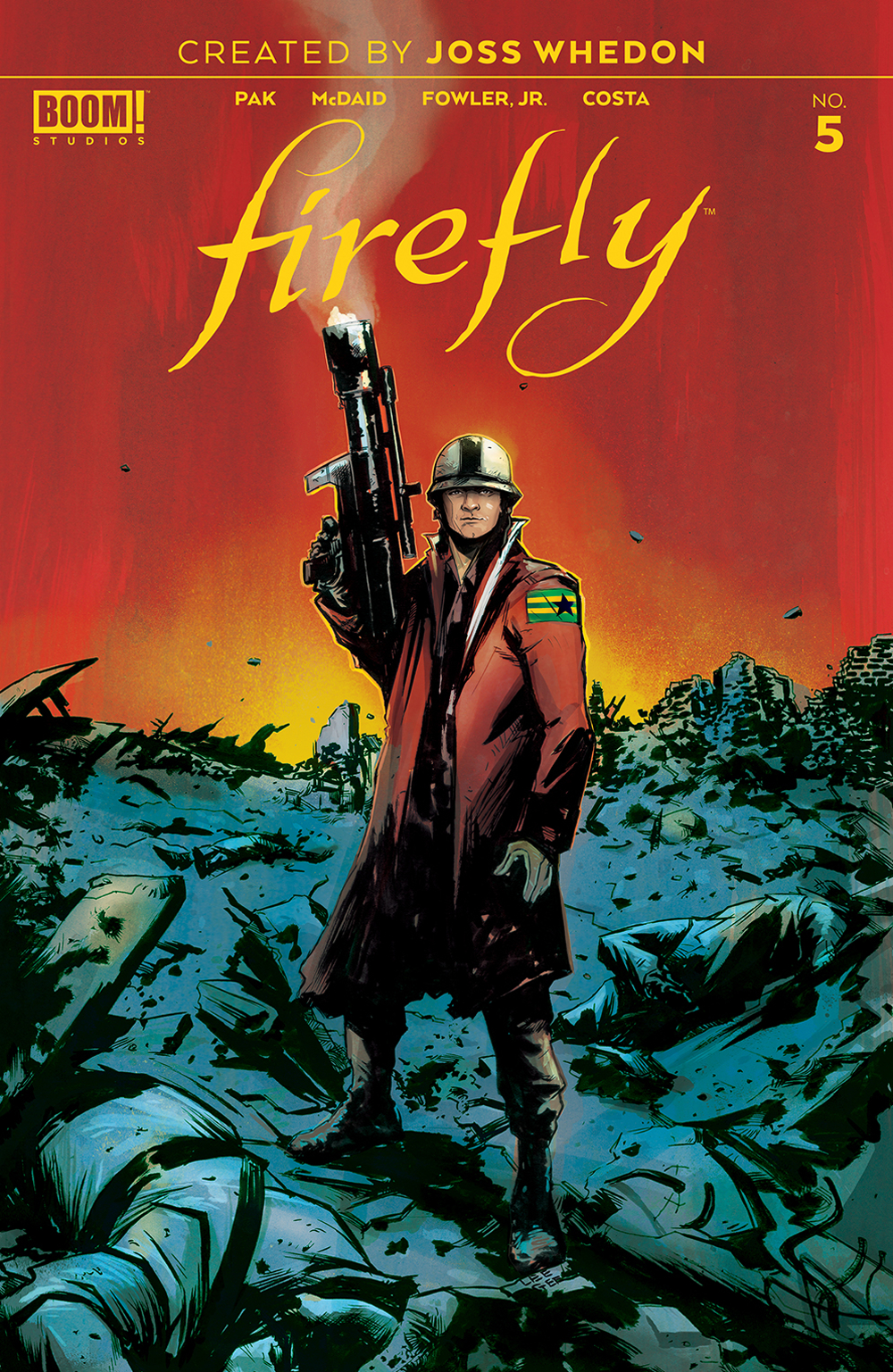FIREFLY #5 MAIN
