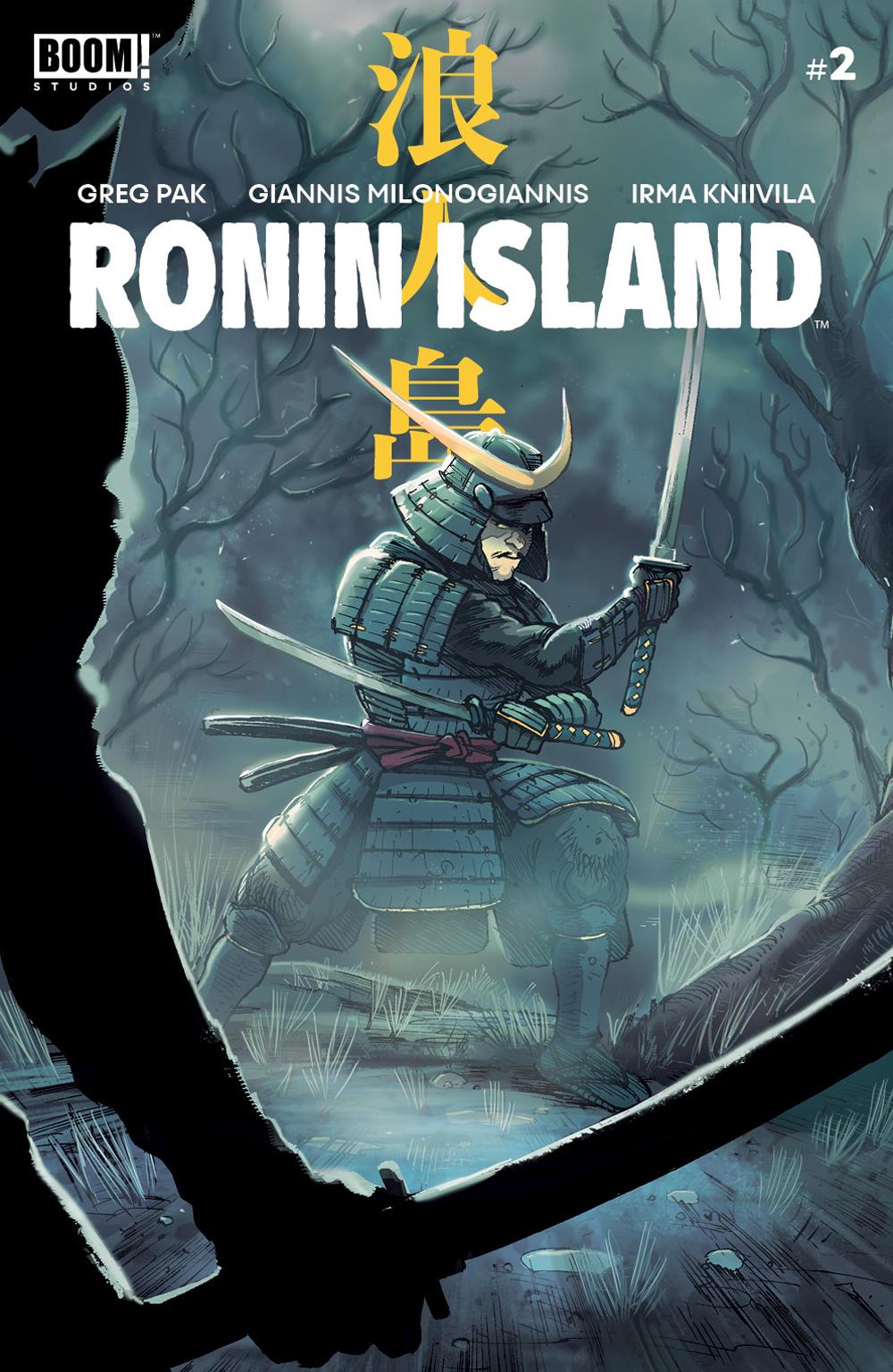 RONIN ISLAND #2 MAIN