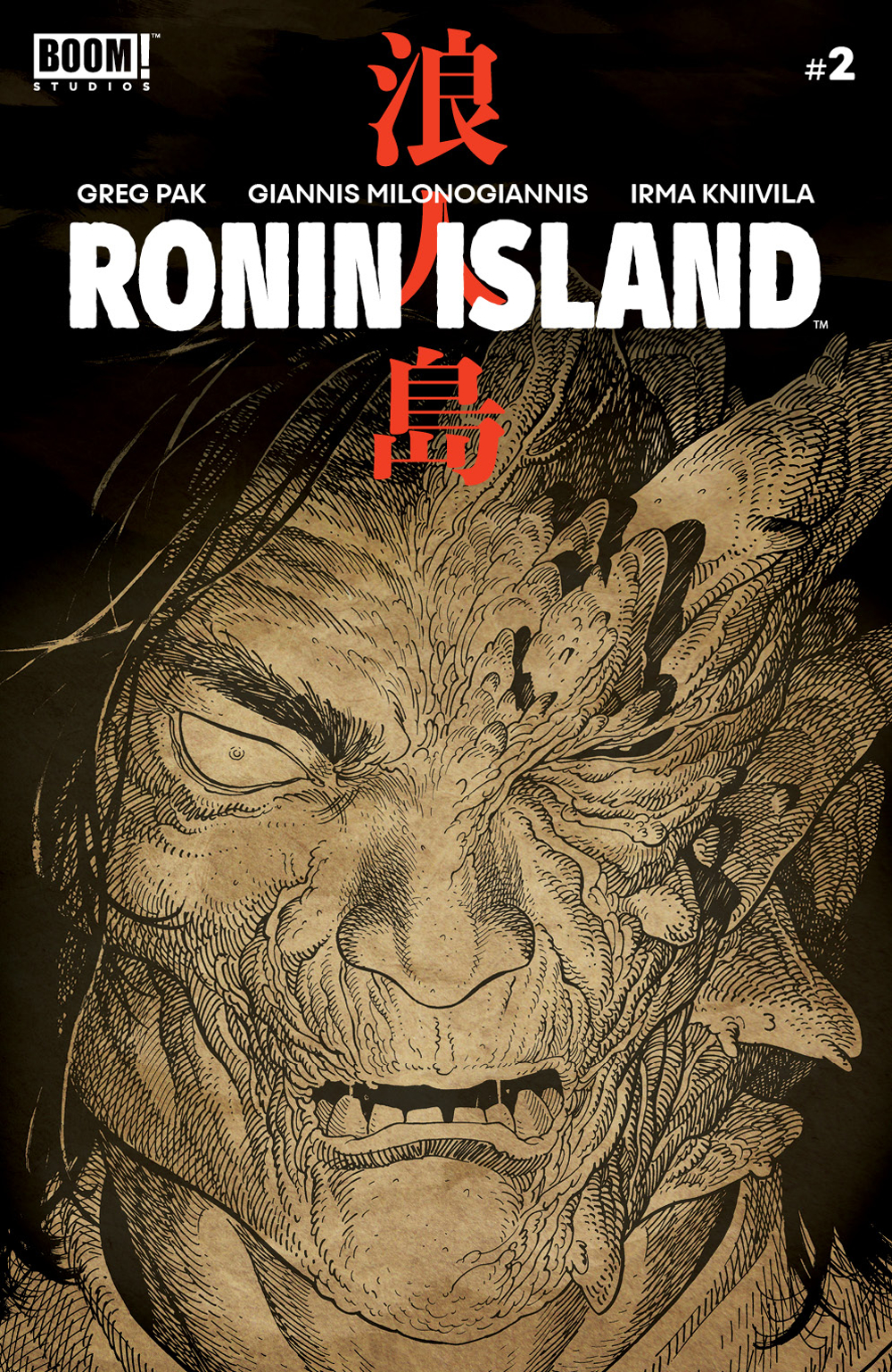 RONIN ISLAND #2 PREORDER YOUNG VAR