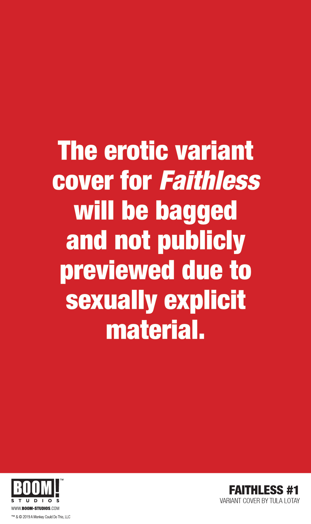 FAITHLESS #1 (OF 5) PREORDER LOTAY EROTICA VAR (MR)