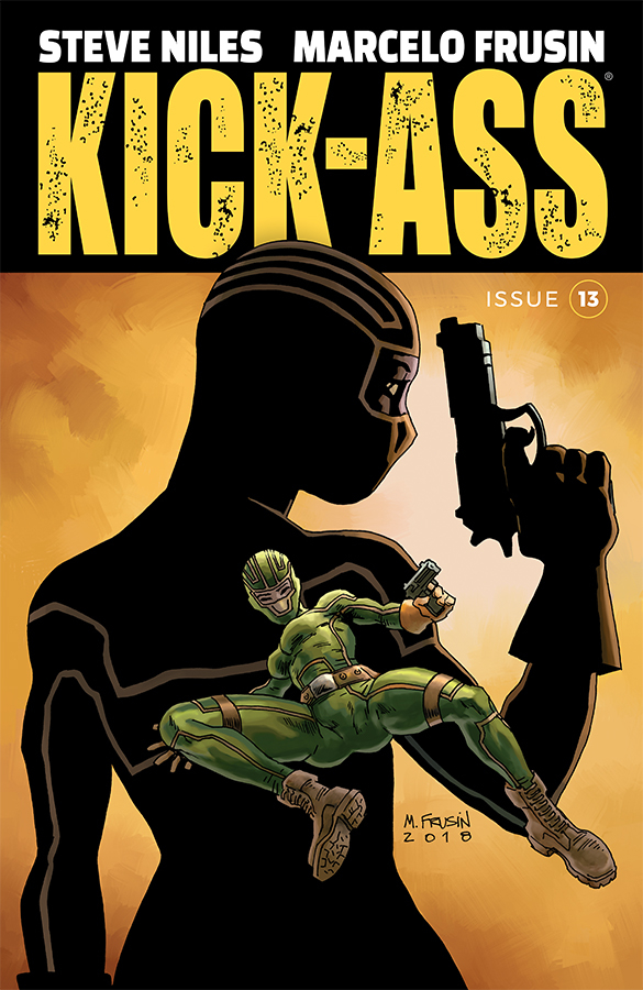 KICK-ASS #13 CVR A FRUSIN (MR)