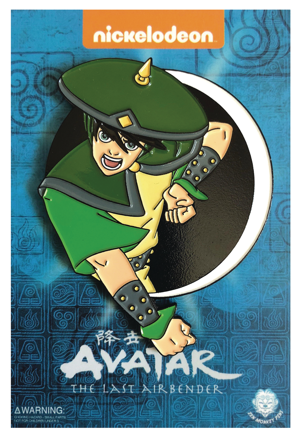 THE LAST AIRBENDER DAY OF BLACK SUN TOPH PIN