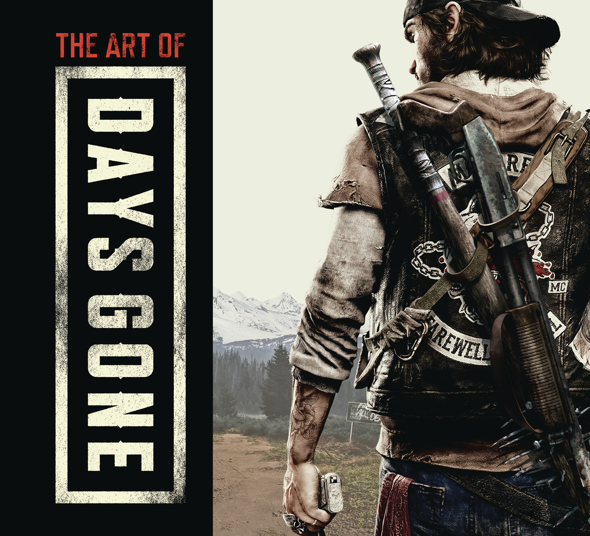 ART OF DAYS GONE HC (NOV188639)