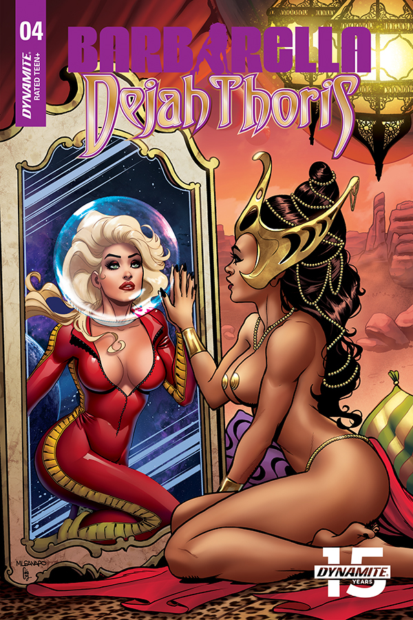 BARBARELLA DEJAH THORIS #4 10 COPY SANAPO SEDUCTION INCV (NE