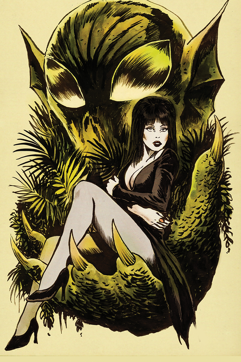 ELVIRA SHAPE OF ELVIRA #4 10 COPY FRANCAVILLA VIRGIN