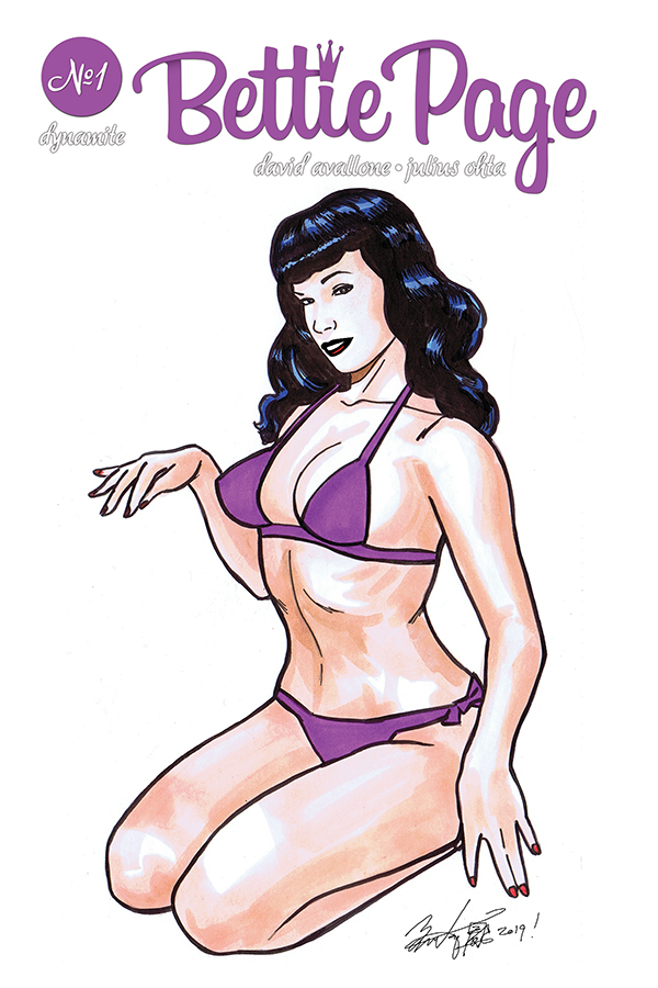 BETTIE PAGE UNBOUND #1 BRIAN KONG RMRK ED