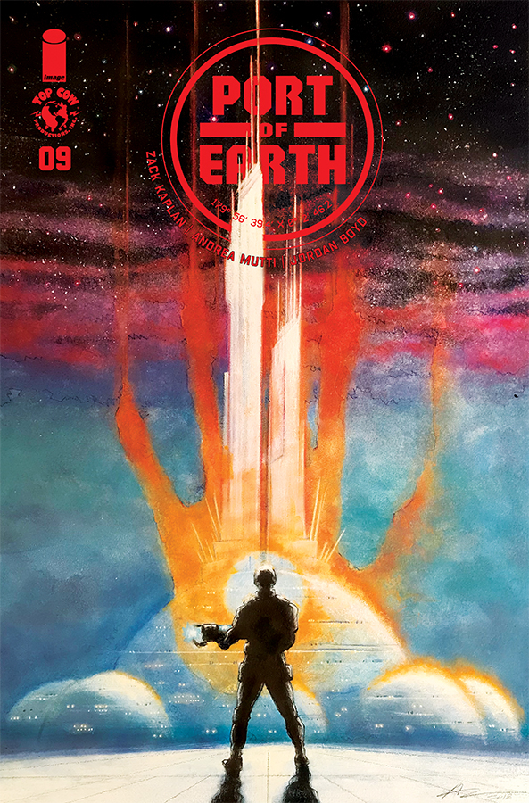 PORT OF EARTH #9 CVR B CAMPBELL