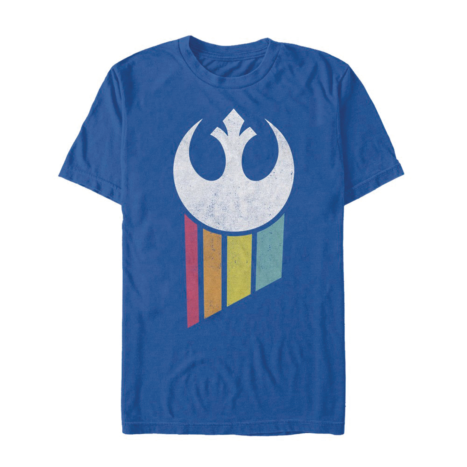 STAR WARS RAINBOW REBEL LOGO T/S MED