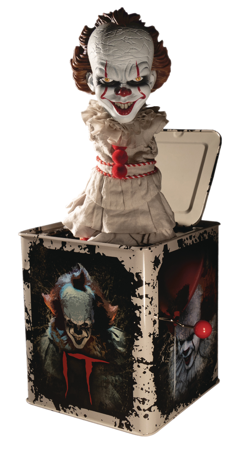IT 2017 PENNYWISE BURST A BOX