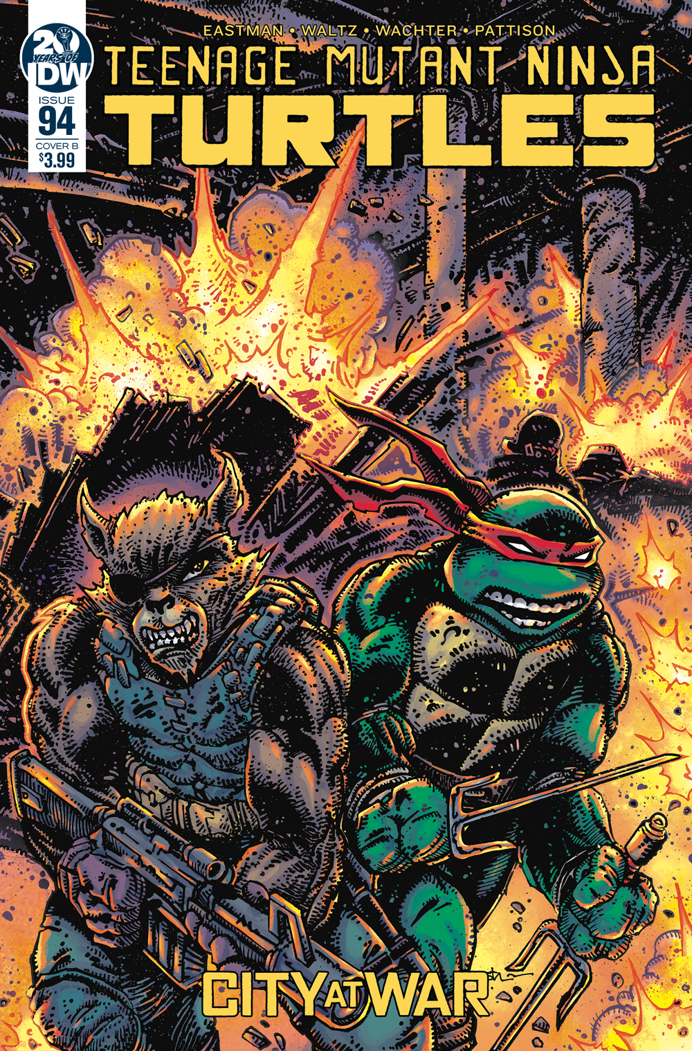TMNT ONGOING #94 CVR B EASTMAN
