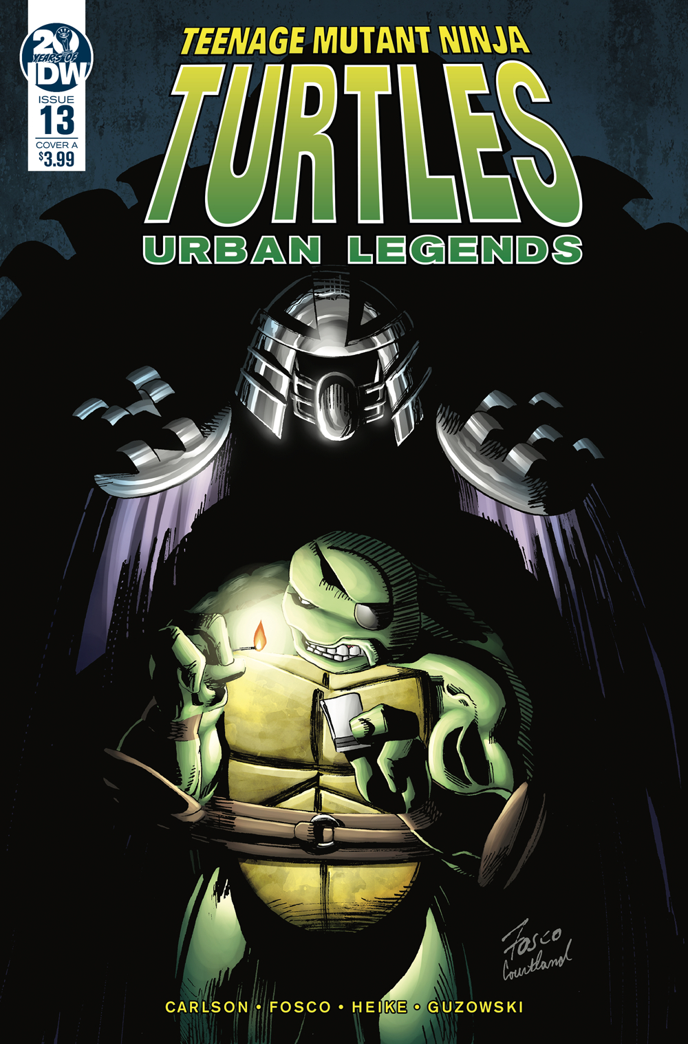 TMNT URBAN LEGENDS #13 CVR A FOSCO