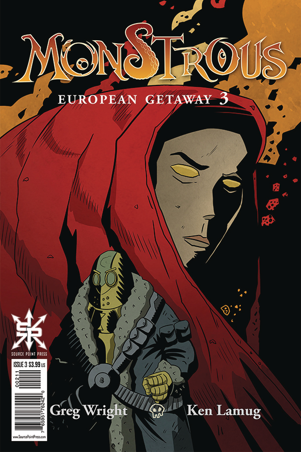 MONSTROUS EUROPEAN GETAWAY #3 (OF 4)
