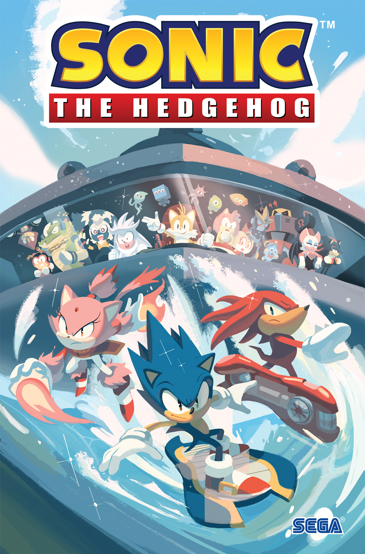 SONIC THE HEDGEHOG TP VOL 03 BATTLE FOR ANGEL ISLAND (MAR190