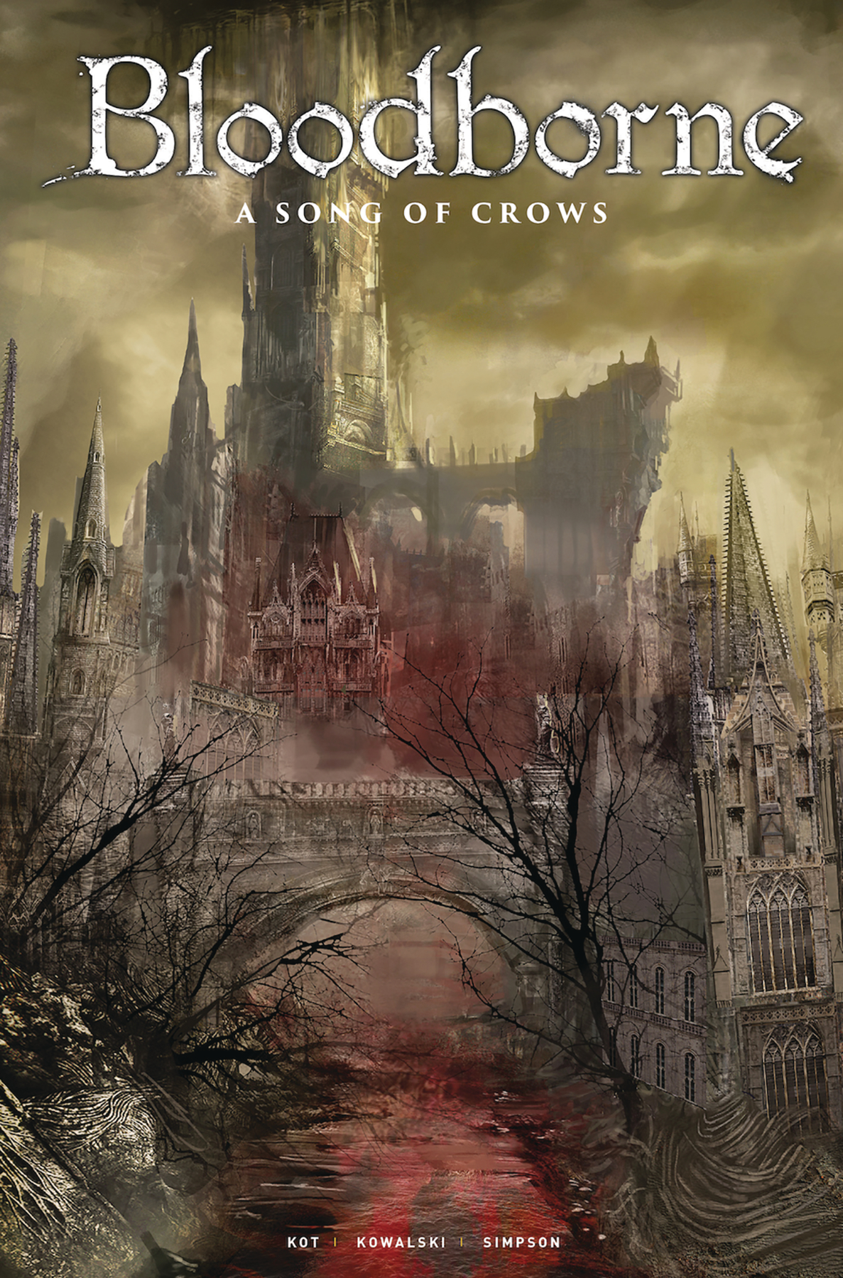 BLOODBORNE #12 CVR C GAME ART (MR)