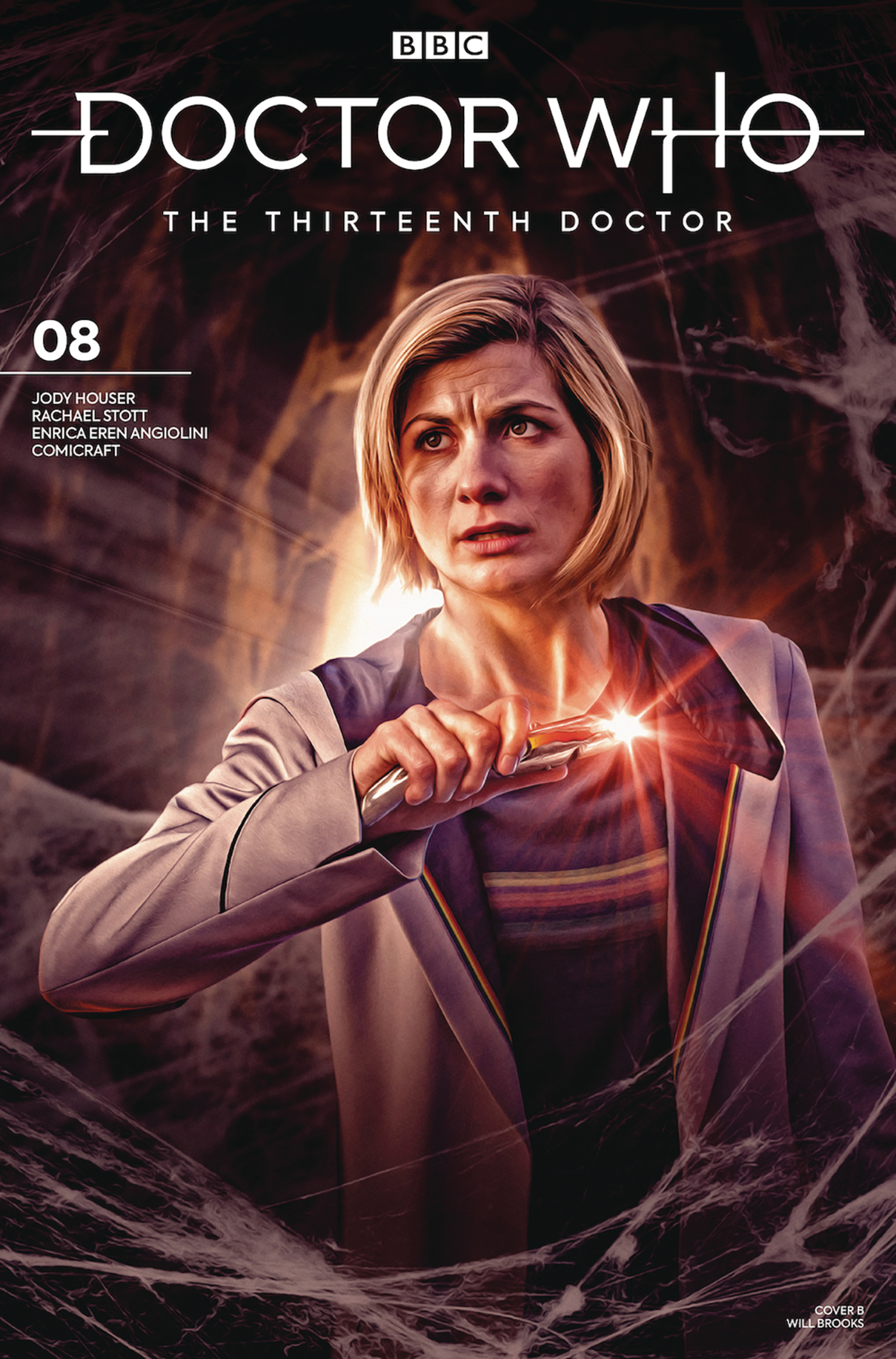 DOCTOR WHO 13TH #8 CVR B PHOTO