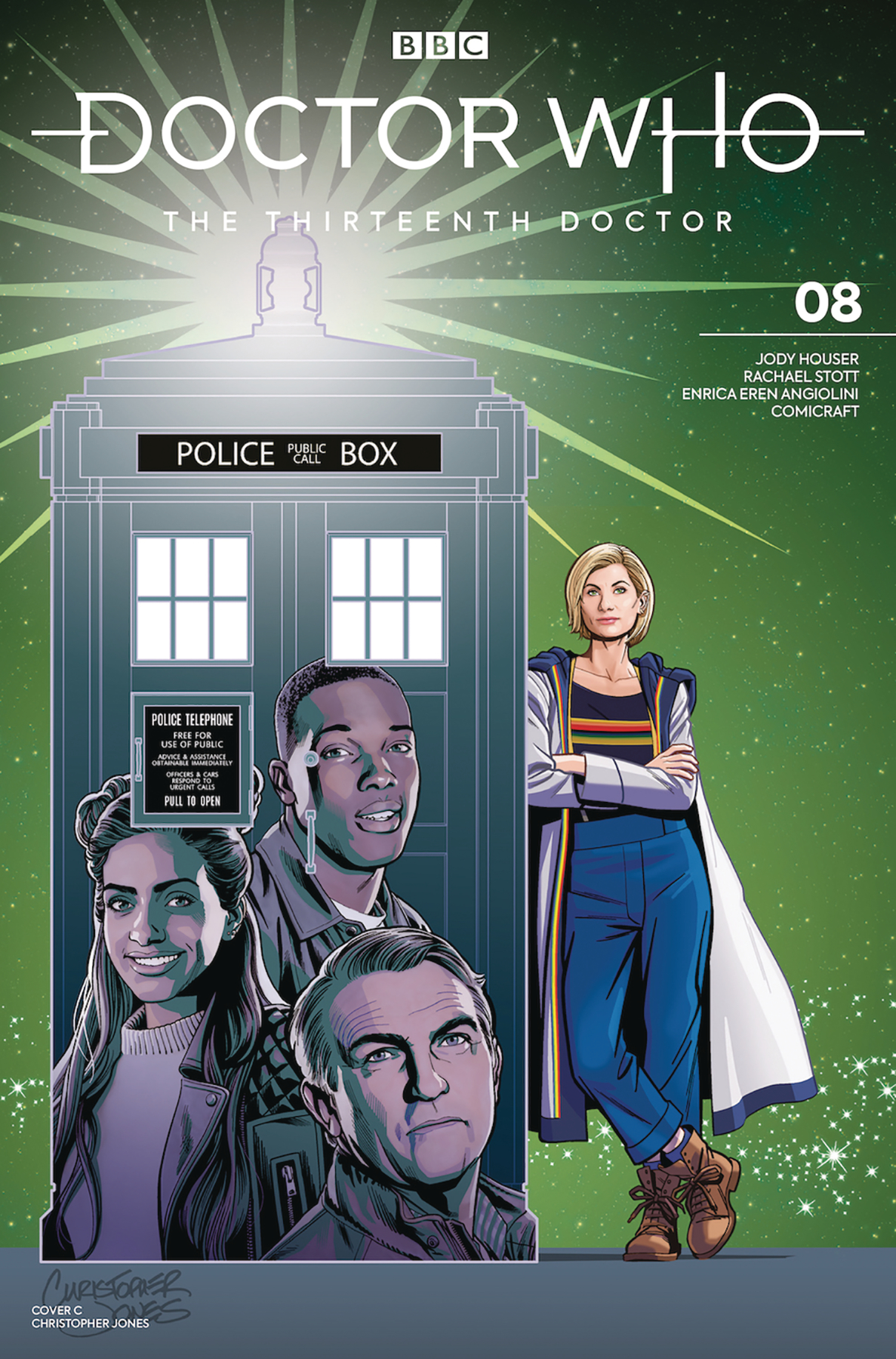 DOCTOR WHO 13TH #8 CVR C JONES