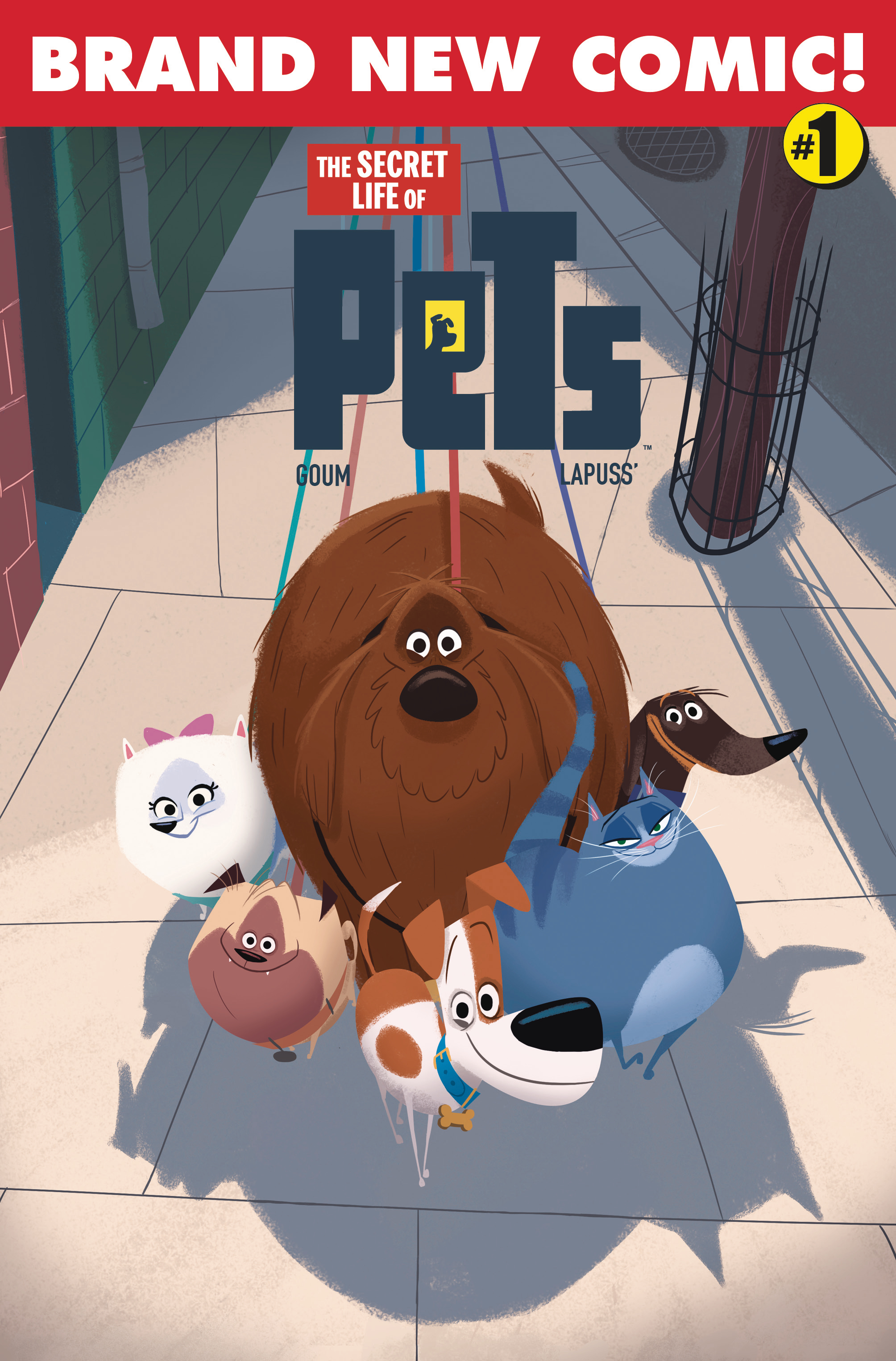 SECRET LIFE OF PETS #1 CVR B GOUM