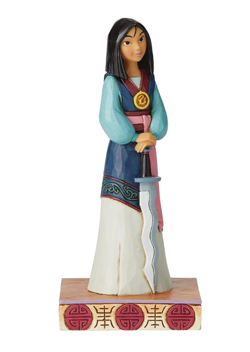 DISNEY TRADITIONS PRINCESS PASSION MULAN FIGURE
