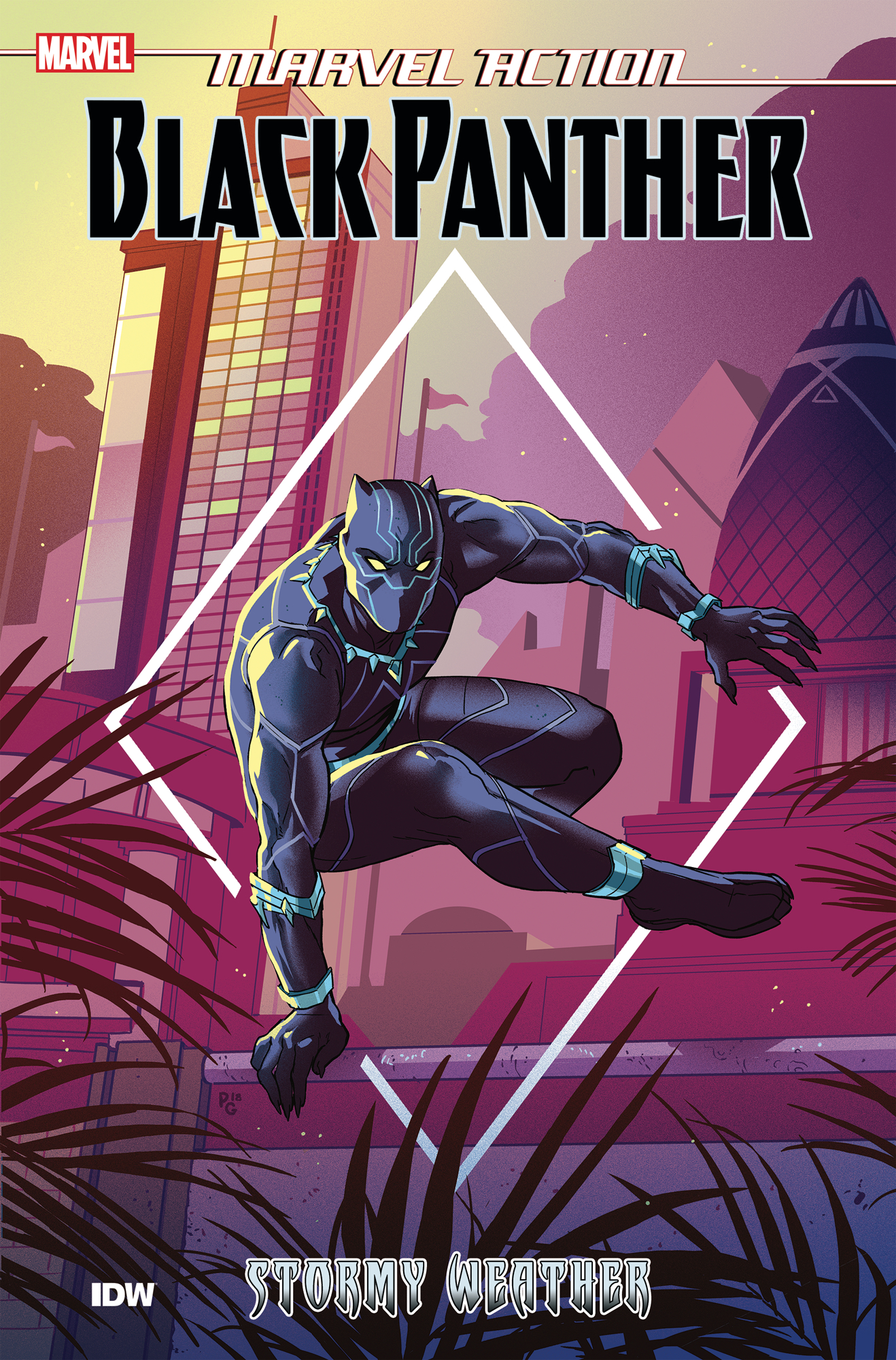 MARVEL ACTION BLACK PANTHER TP BOOK 01 STORMY WEATHER