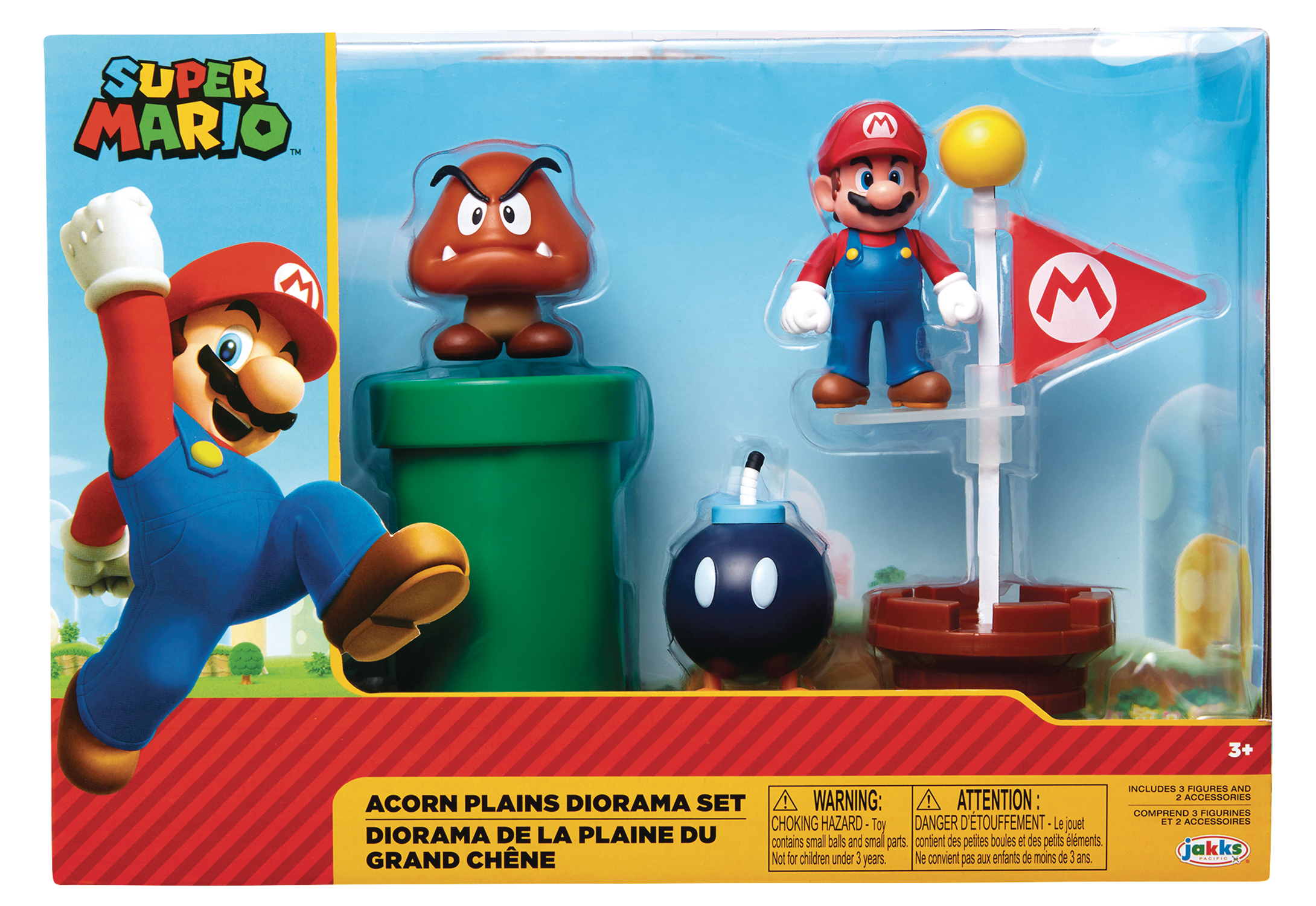 NINTENDO 2-1/2IN FIGURE ACORN PLAINS DIORAMA SET CS  (C