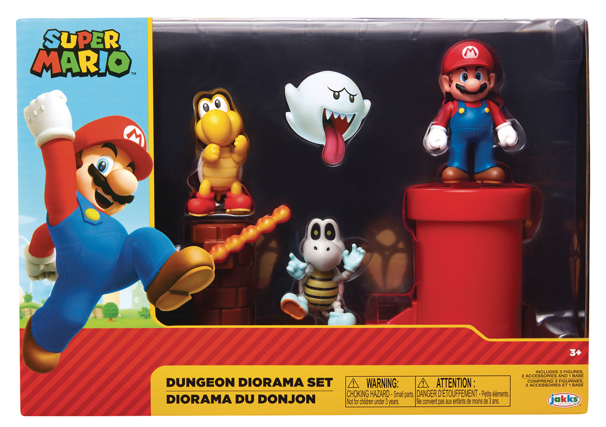 NINTENDO 2-1/2IN DUNGEON DIORAMA SET CS