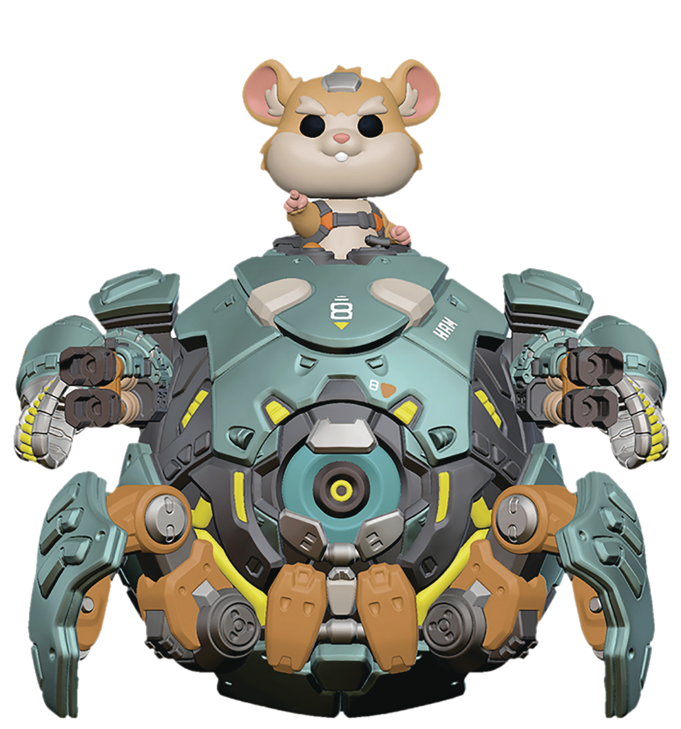 POP OVERWATCH WRECKING BALL 6IN VINYL FIG