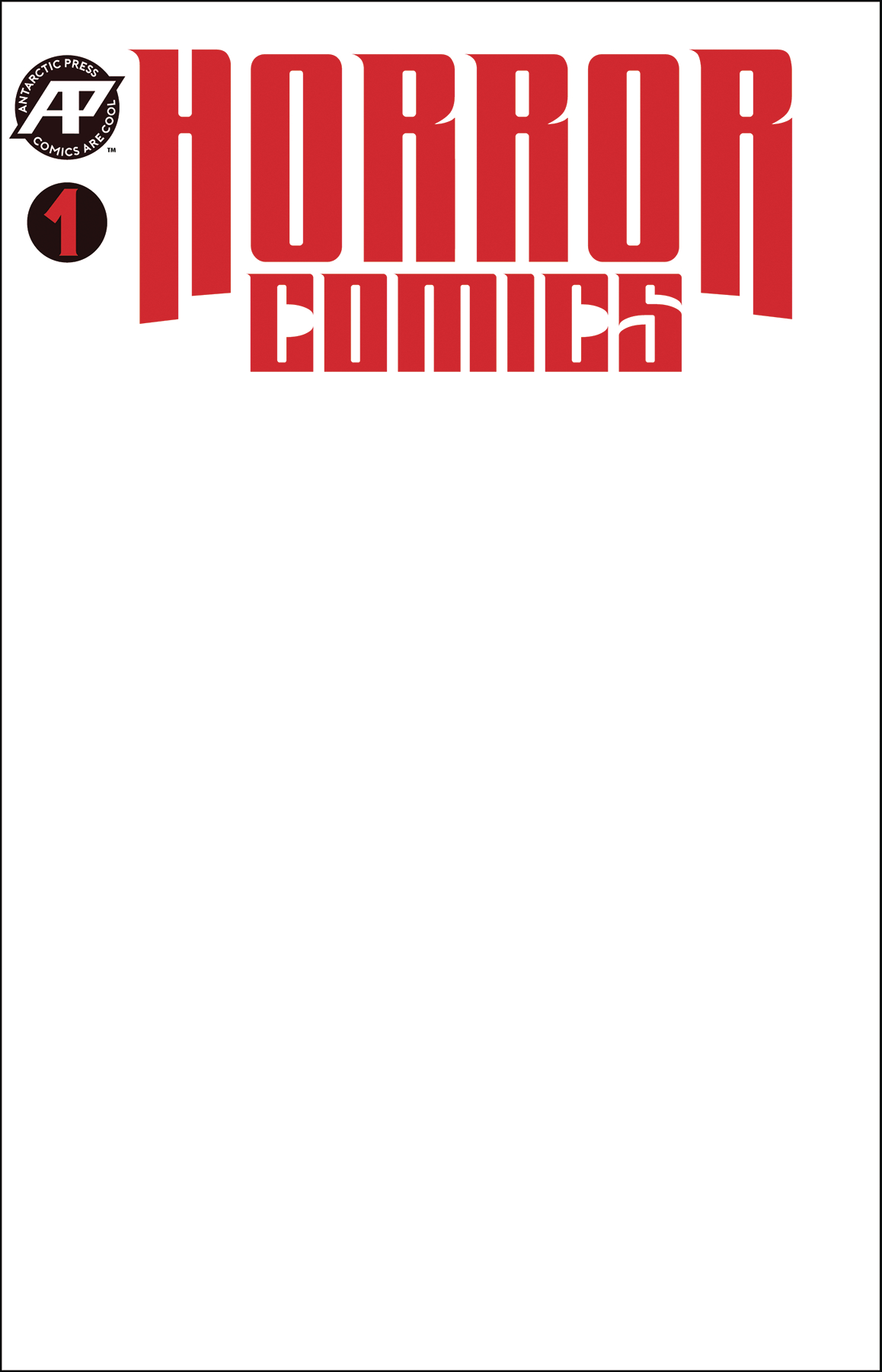 HORROR COMICS #1 SKETCH VAR CVR