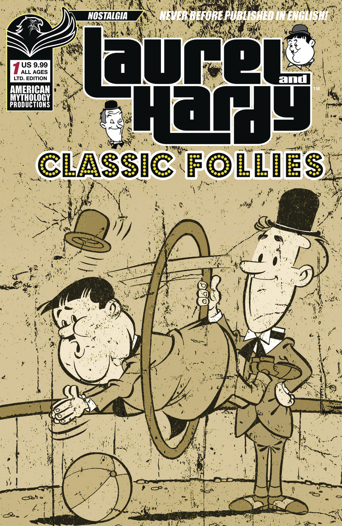 LAUREL & HARDY CLASSIC FOLLIES #1 LTD ED CVR
