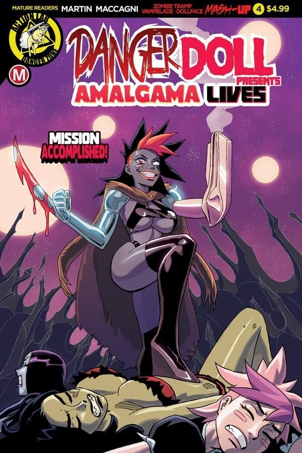 DANGER DOLL SQUAD PRESENTS AMALGAMA LIVES #4 CVR A YOUNG (MR