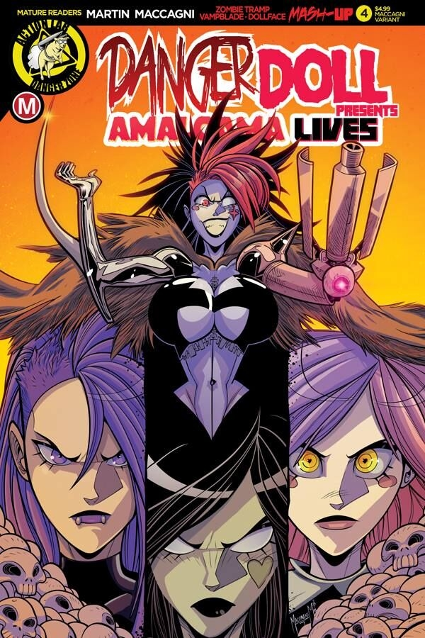 DANGER DOLL SQUAD PRESENTS AMALGAMA LIVES #4 CVR C ARTIST MA