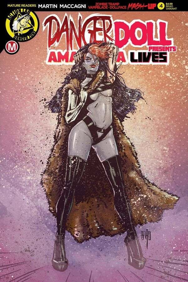 DANGER DOLL SQUAD PRESENTS AMALGAMA LIVES #4 CVR E ACTION FI