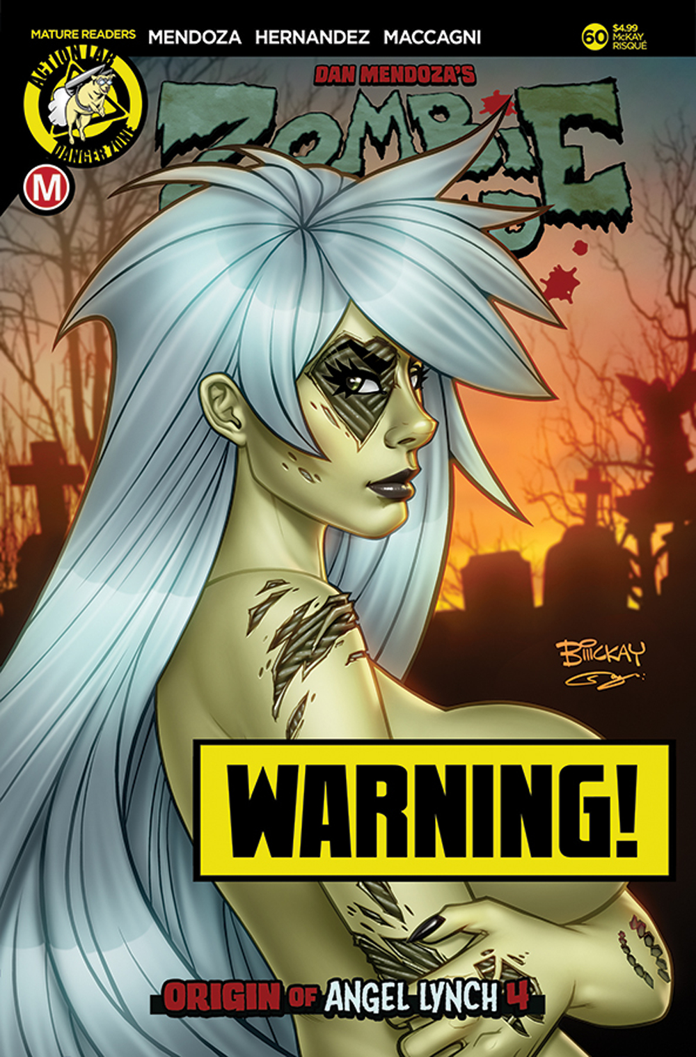 ZOMBIE TRAMP ONGOING #60 CVR D MCKAY RISQUE LTD ED (MR)