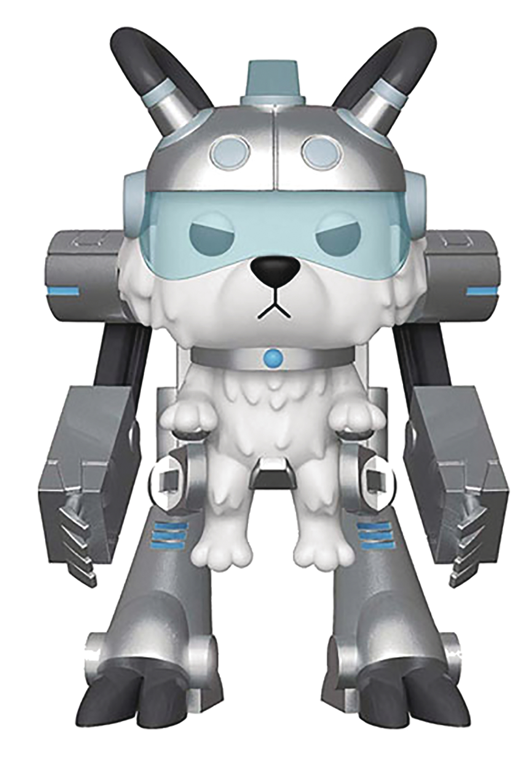 POP RICK & MORTY SNOWBALL IN MECH SUIT VINYL FIG