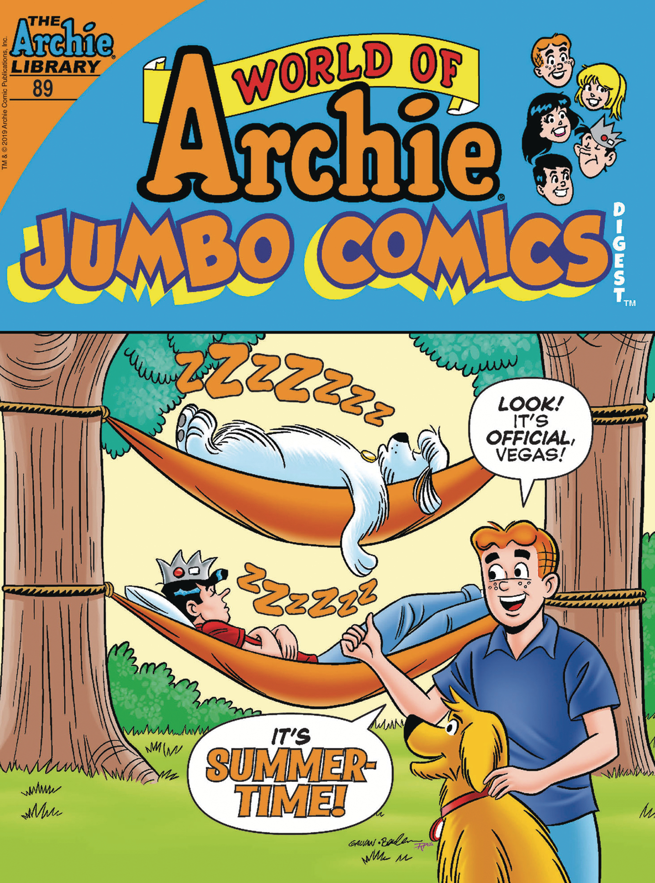 WORLD OF ARCHIE JUMBO COMICS DIGEST #89