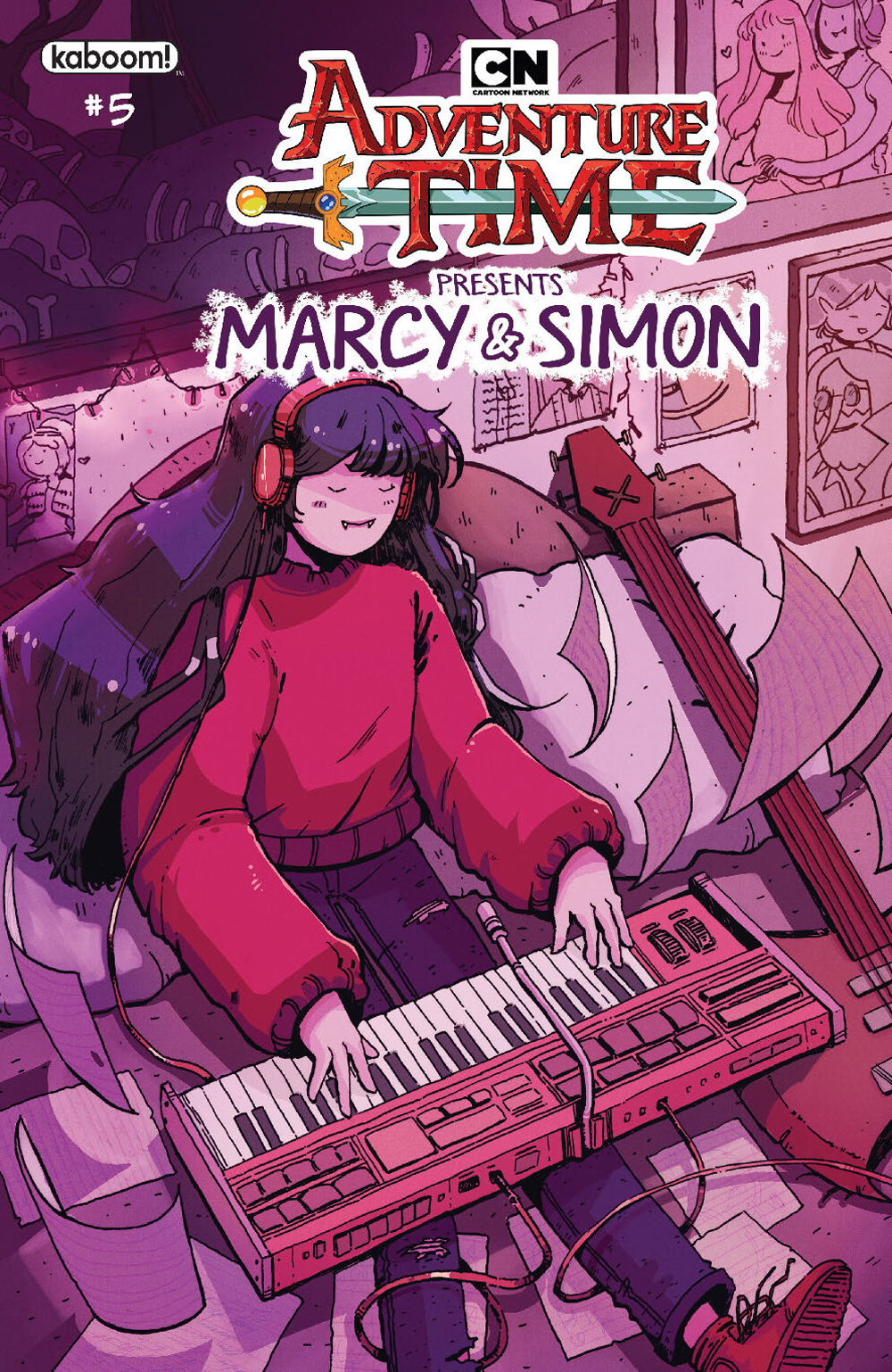 ADVENTURE TIME MARCY & SIMON #5 (OF 6) PREORDER MARCY
