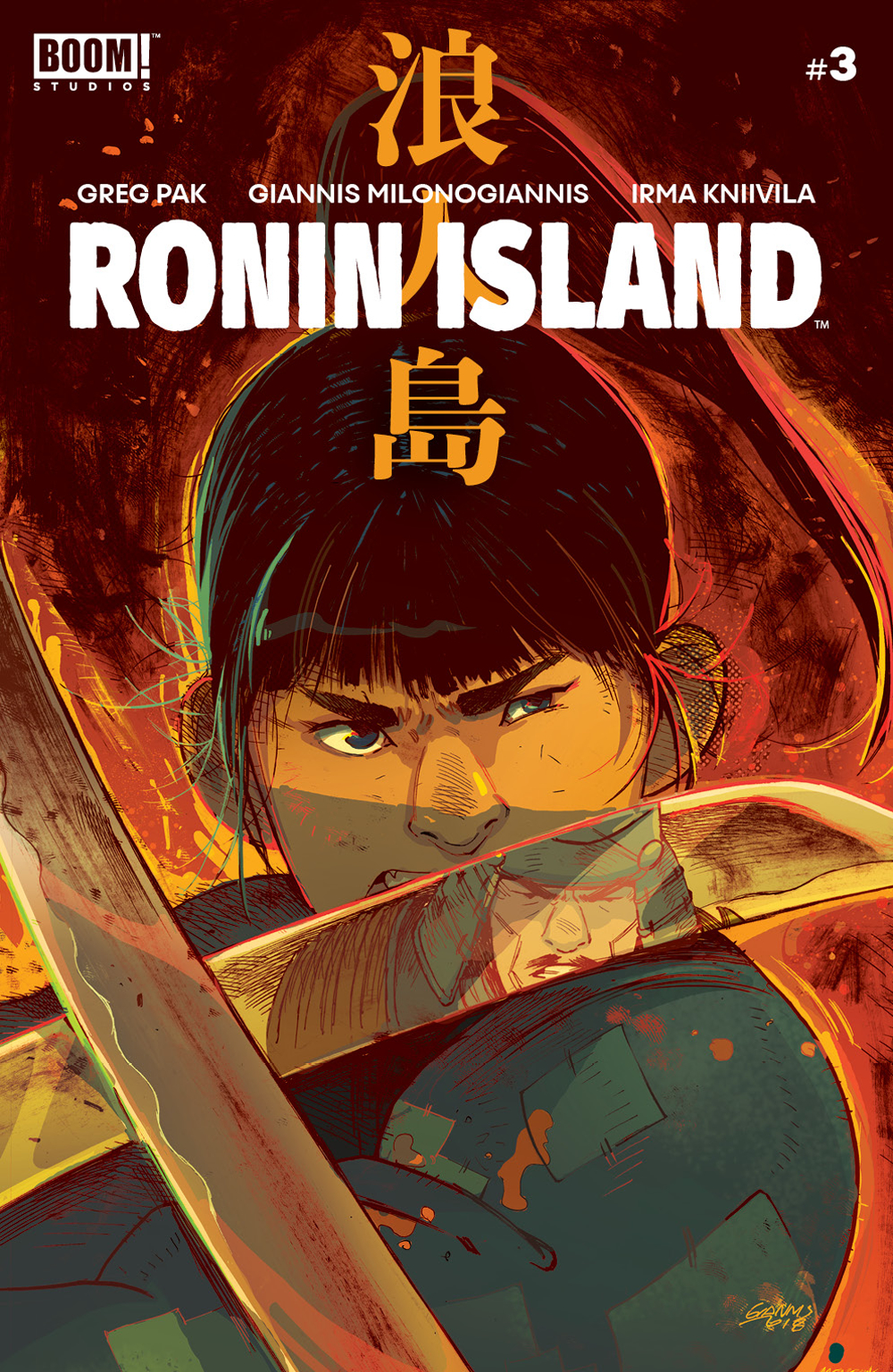 RONIN ISLAND #3 MAIN
