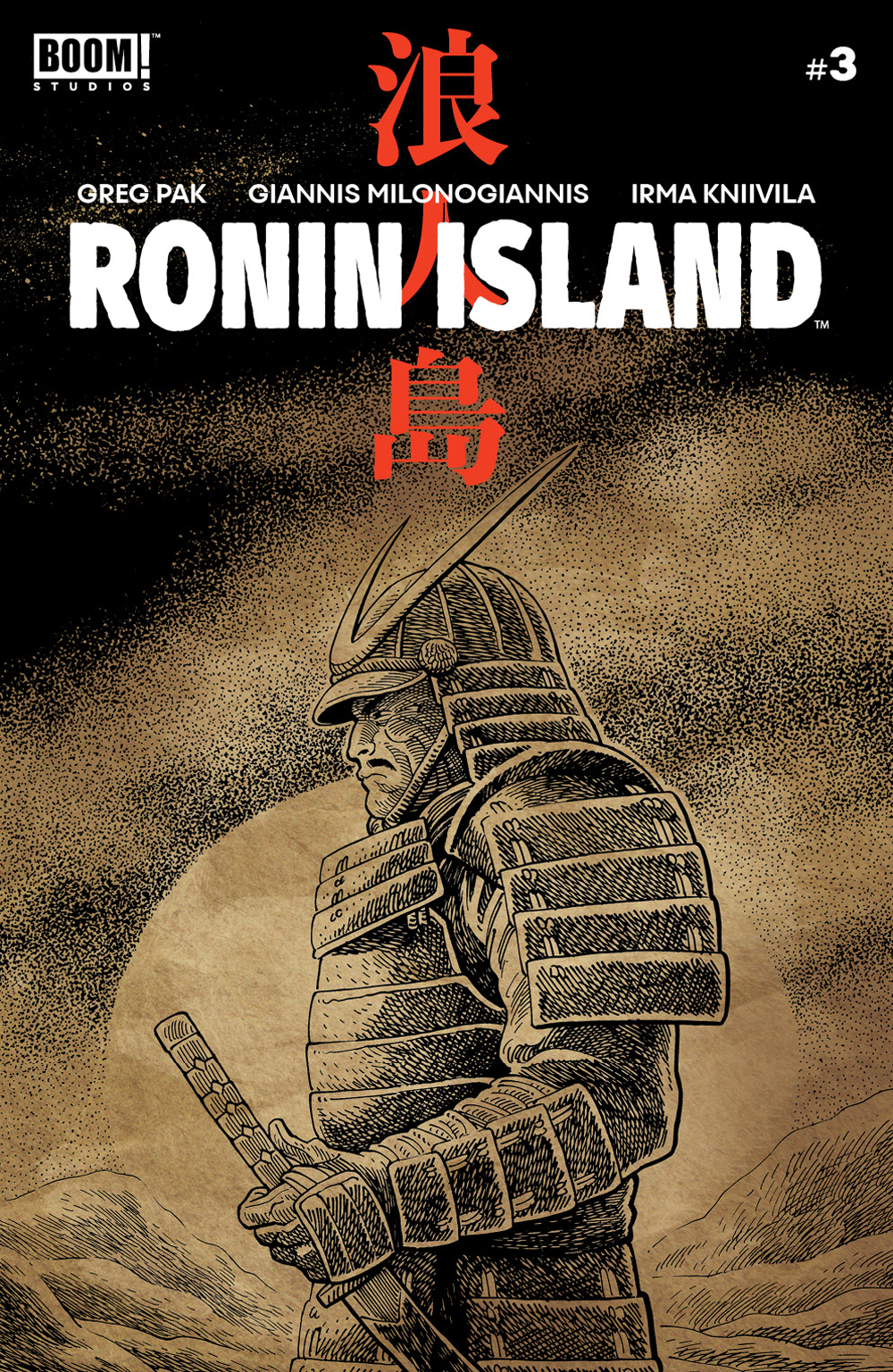RONIN ISLAND #3 PREORDER YOUNG VAR