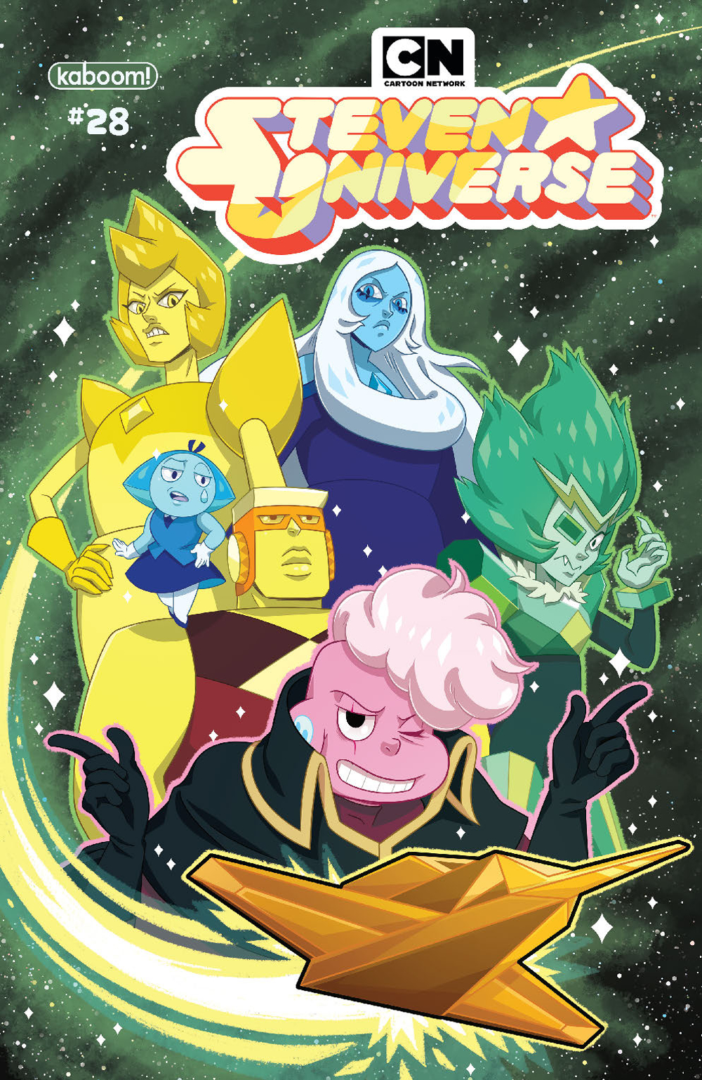 STEVEN UNIVERSE ONGOING #28 MAIN PENA CVR