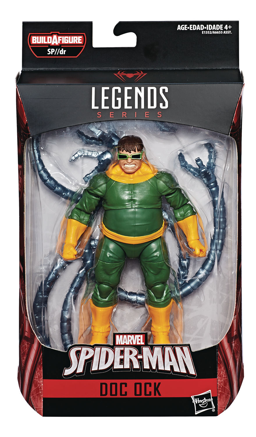 SPIDER-MAN LEGENDS 6IN DOC OCK AF CS