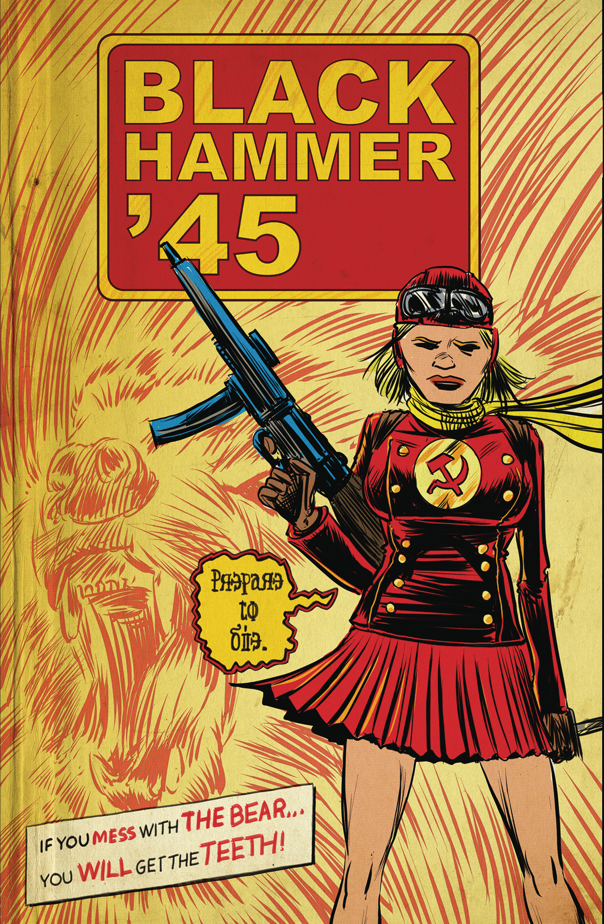 OPACK HAMMER 45 FROM WORLD OF BLACK HAMMER #3 CVR A KINDT