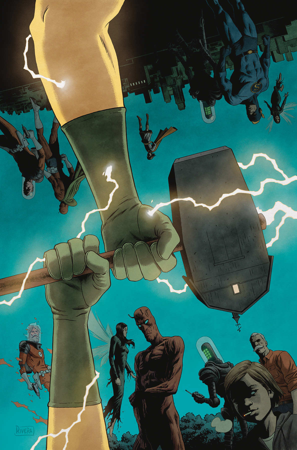 BLACK HAMMER AGE OF DOOM #11 CVR B RIVERA