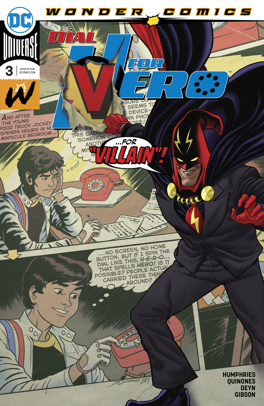 DIAL H FOR HERO #3 (OF 6)