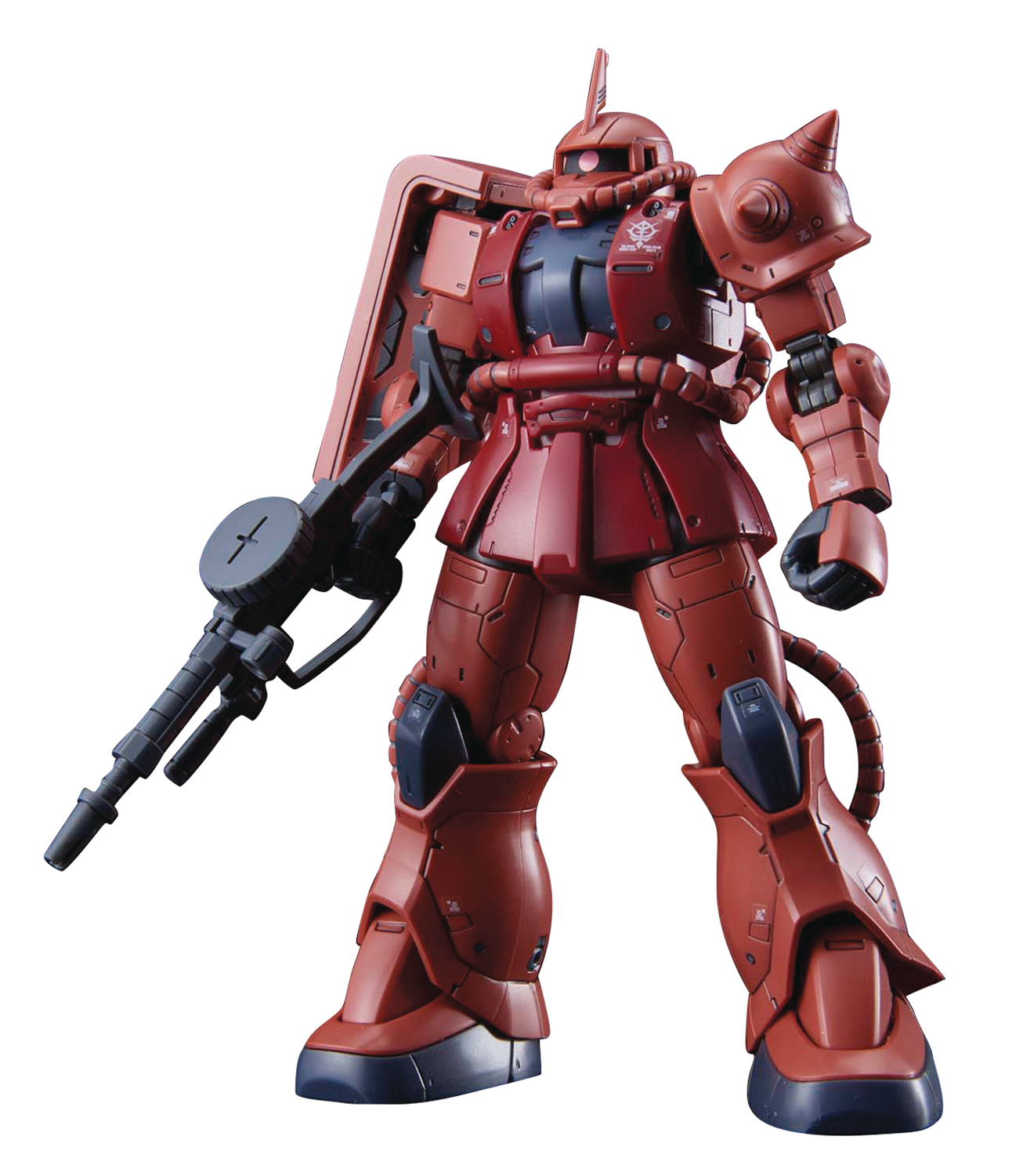 GUNDAM ORIGIN MS-06S ZAKU II CHAR RED COMET HG 1/144 MDL KIT