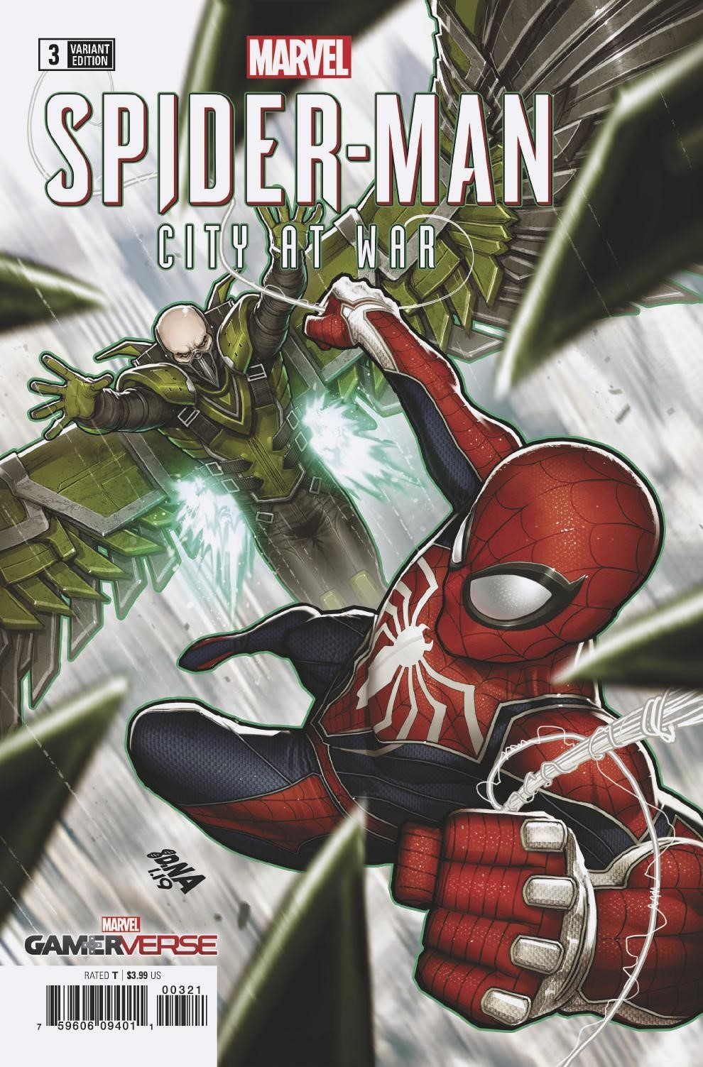 SPIDER-MAN CITY AT WAR #3 (OF 6) NAKAYAMA VAR