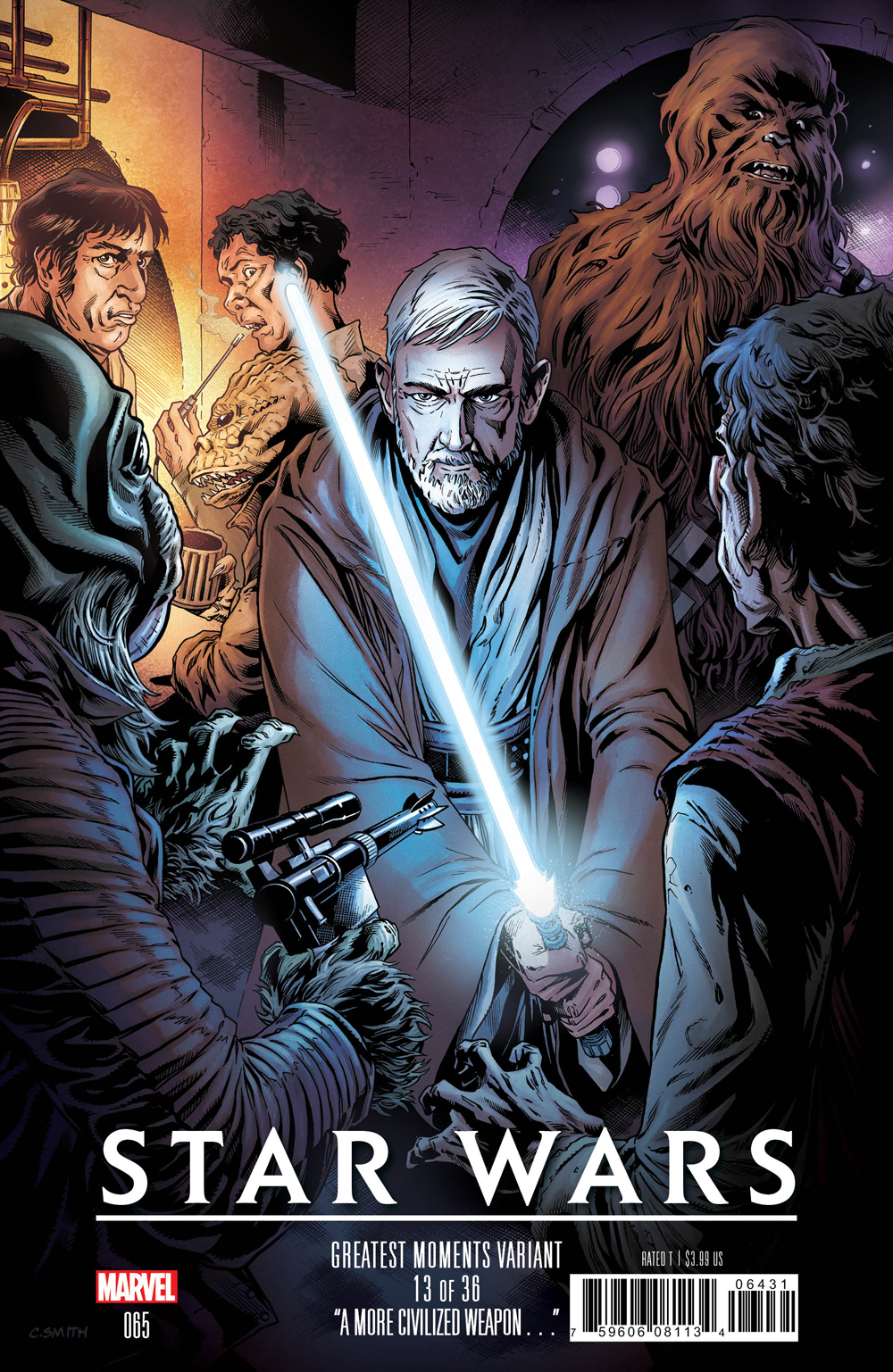 STAR WARS #65 CORY SMITH GREATEST MOMENTS VAR