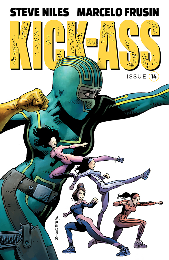 KICK-ASS #14 CVR A FRUSIN (MR)