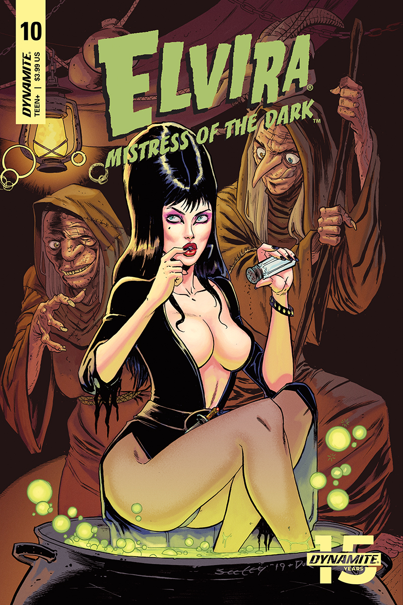 ELVIRA MISTRESS OF DARK #10 CVR A SEELEY