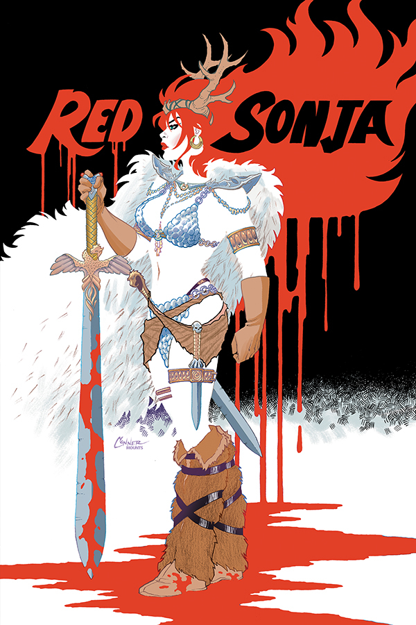 RED SONJA #4 CONNER VIRGIN CVR
